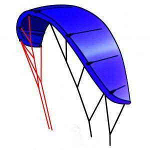 Kite bow plano