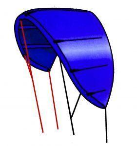 kite hibrido delta
