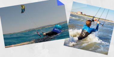 body drag kitesurfing