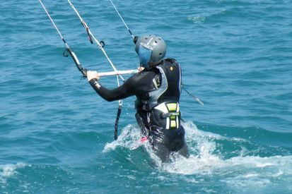 bodydrag downwind kitesurf