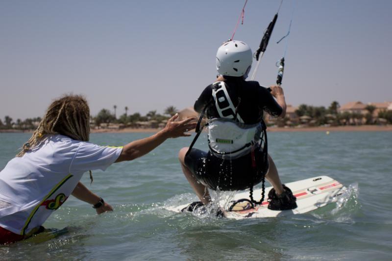 waterstart kitesurf curso