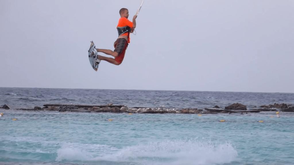airtime jump kitesurf