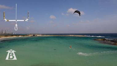 posicion kite despegue kite