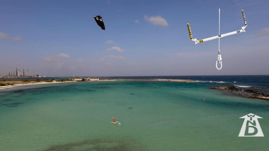 posicion kite jumping kitesurf