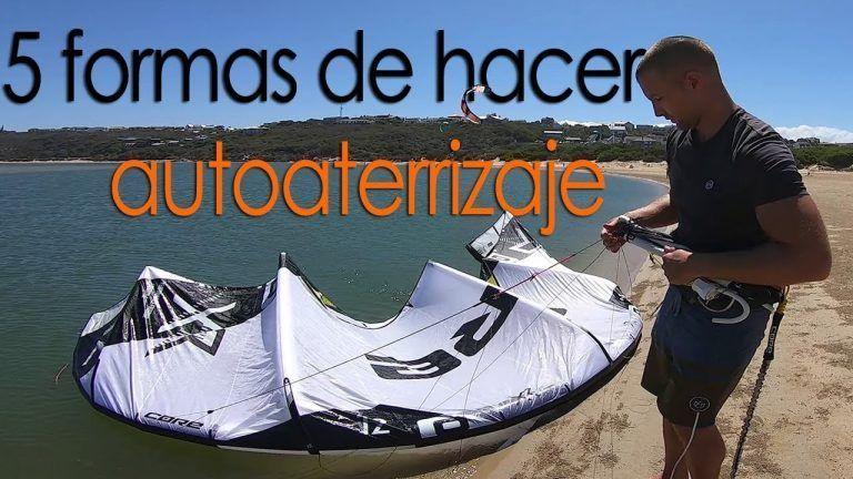 autoaterrizaje kitesurf video tutorial