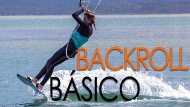 back roll kitesurf