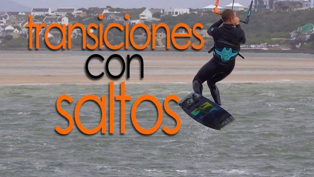 transiciones kitesurf saltos