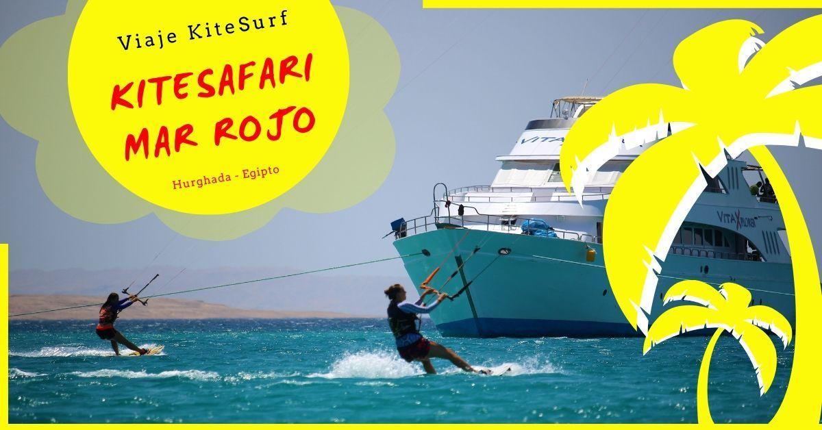 Kitesafari mar rojo