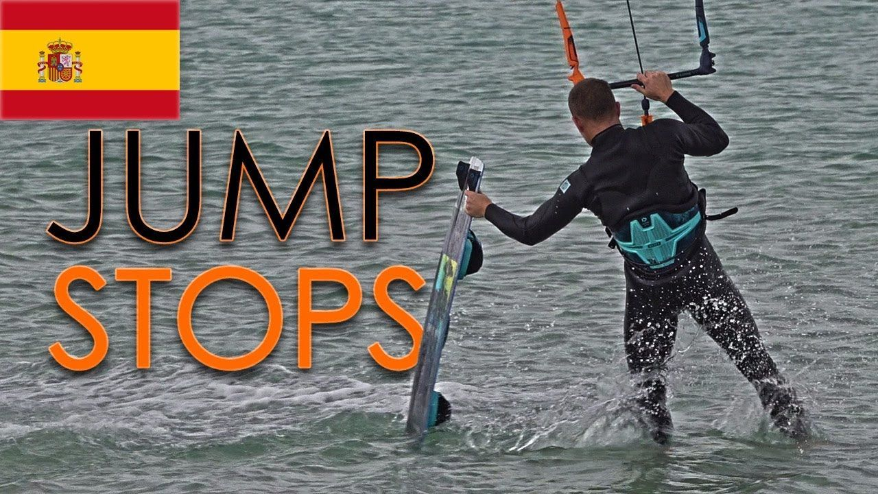 jump stops kitesurf