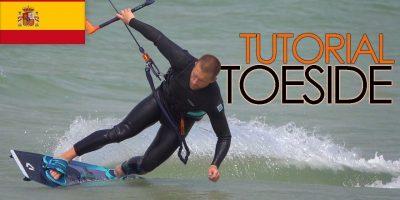 aprender kitesurf tutorial español